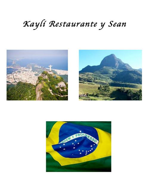 Kayli Restaurante y Sean