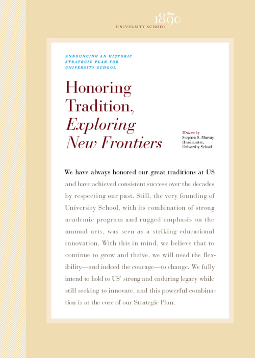 Honoring Tradition, Exploring New Frontiers