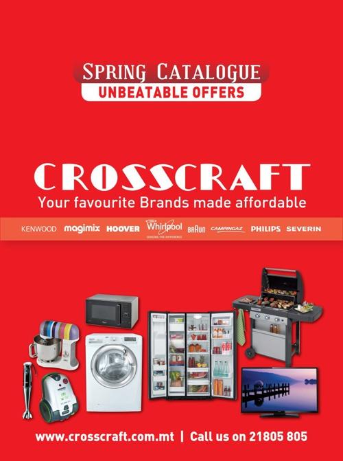 Crosscraft Spring Catalogue