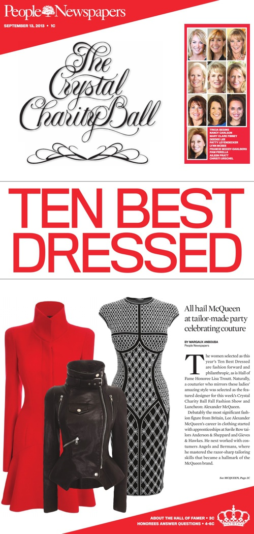 People Newspapers: Ten Best Dressed Special Section