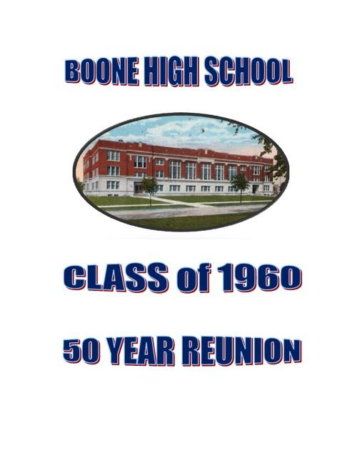 BHS Class of 60 Reunion Book
