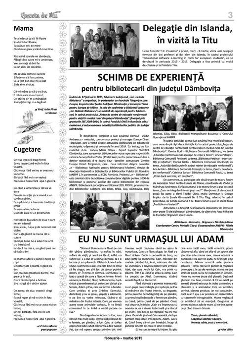 GAZETA DE TITU/NR10