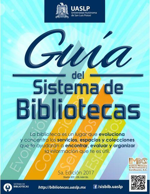 Guía del Sistema de Bibliotecas