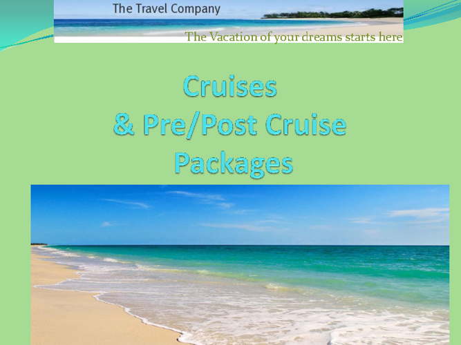 2013 Lifestyle Cruise Guide with pre/post Cruise Packages