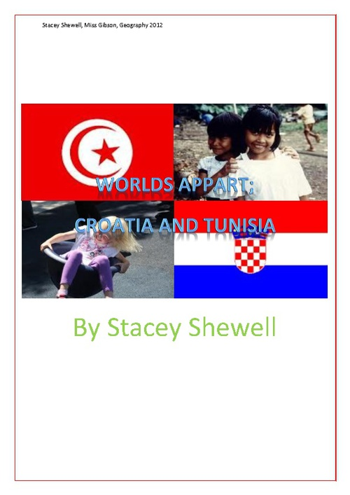 Stacey Shewell Worlds Appart Assignment