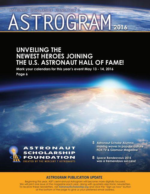 ASTROGRAM 2016