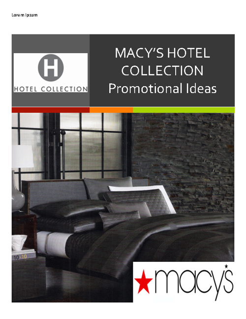 Macy's Hotel Collection