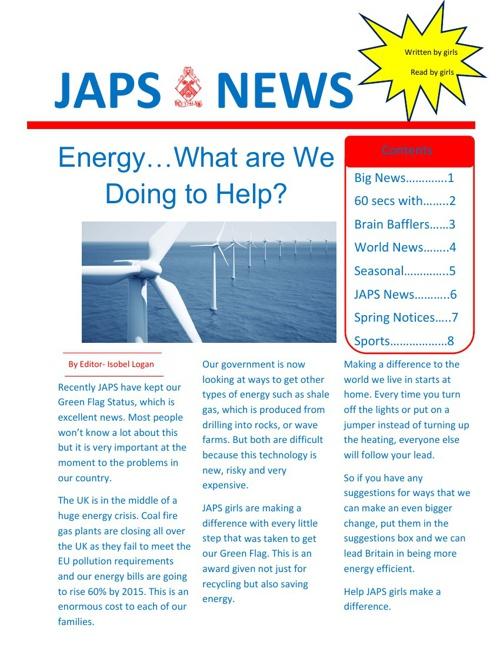 March Japs News