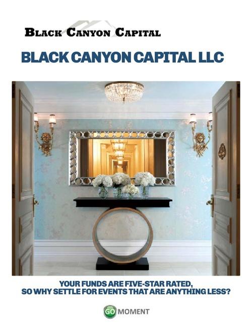 Black Canyon Capital LLC