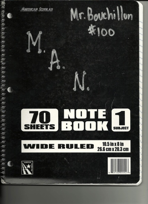 Math Academic Notebook