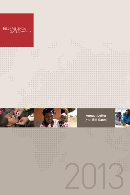 Bill Gates Foundation 2013 Annual Letter English