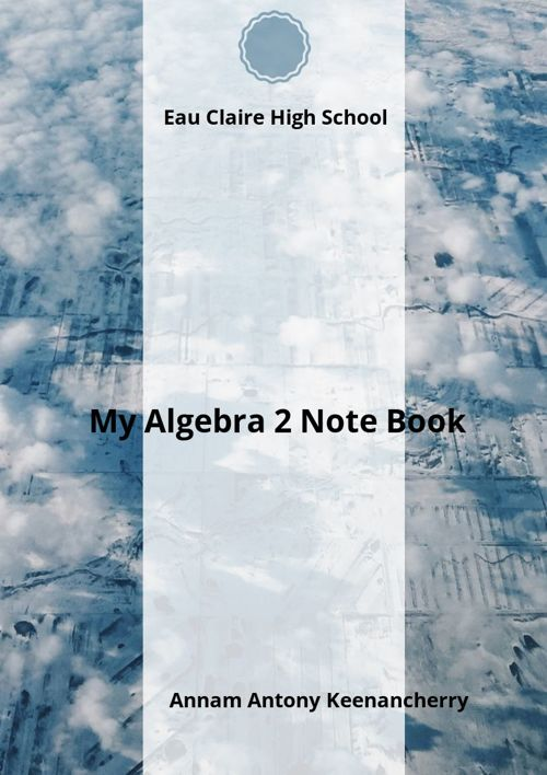 Algebra Note Book