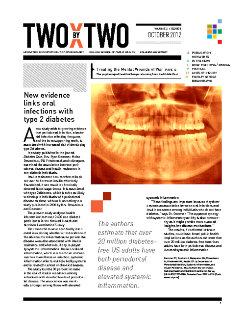 Two by Two, the Department of Epidemiology Newsletter, Columbia