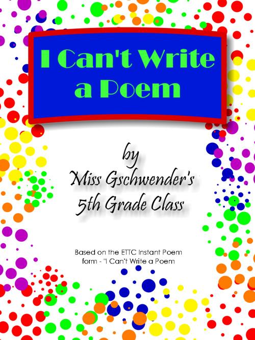 5B Poem Project