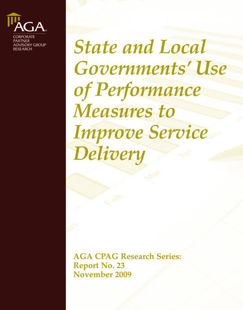 State and Local Performance Measures 2009