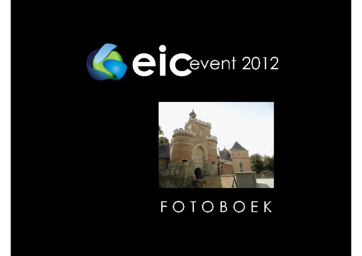 eic event 2012 - fotoboek