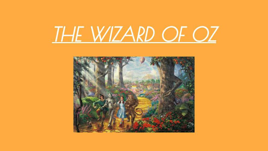 THE WIZARD OF OZ (1)
