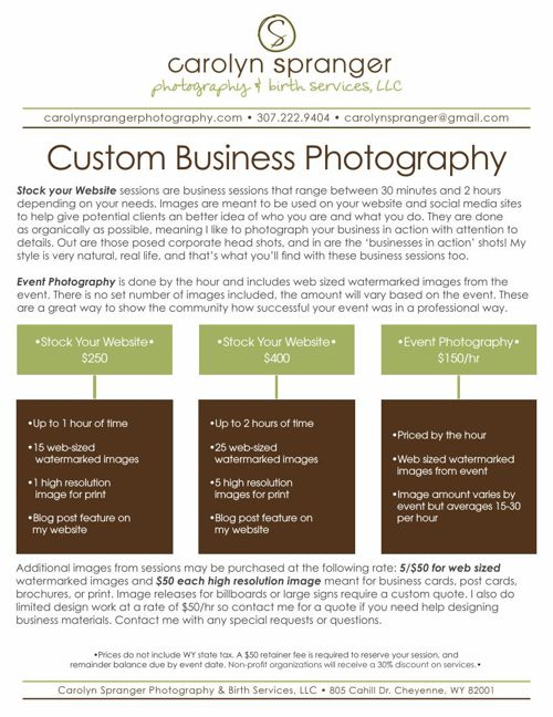 Stock your Website Photography