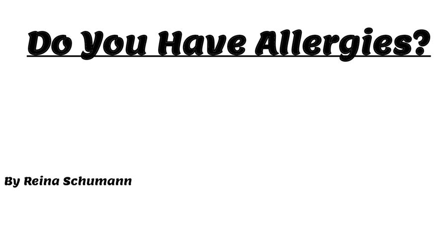 Allergies - Reina