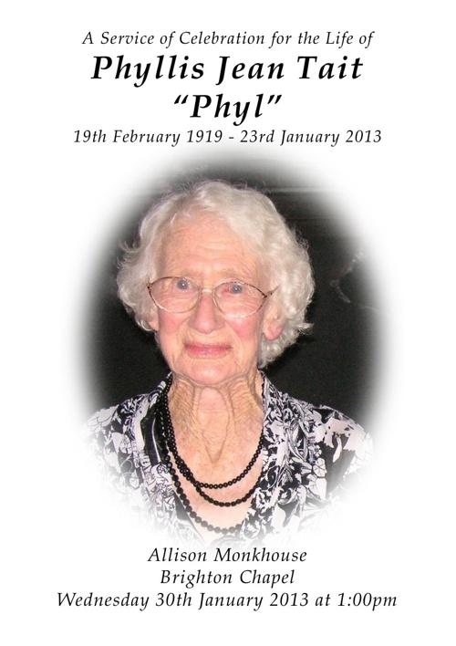 Phyllis tait