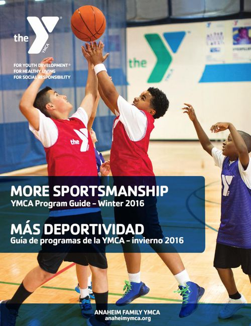 Anaheim Family YMCA Winter Program Guide 2016