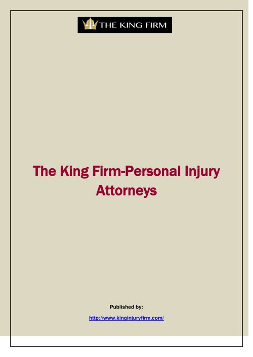 The King Firm-Personal Injury Attorneys