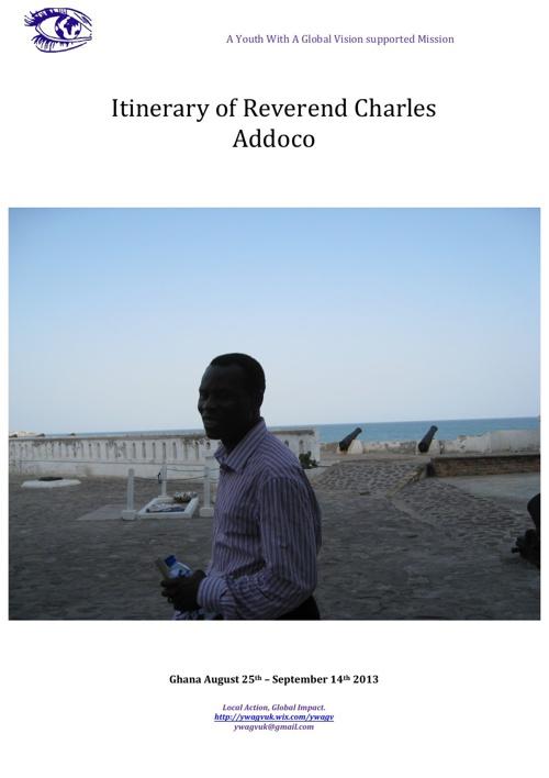 Charles Addoco  - Ghana 2013