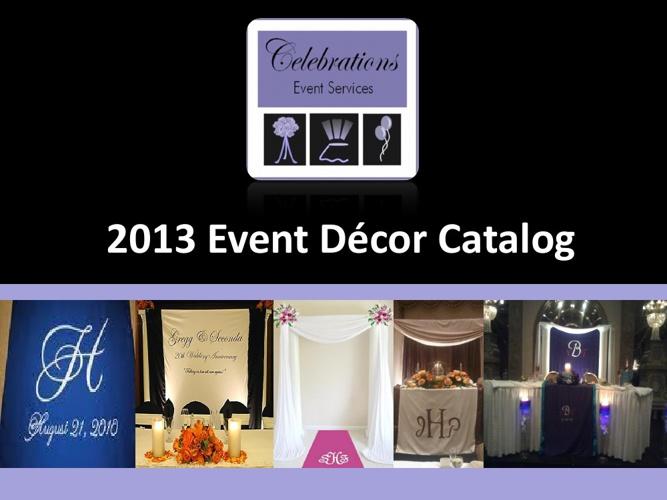 2013 CES Event Display Catalog