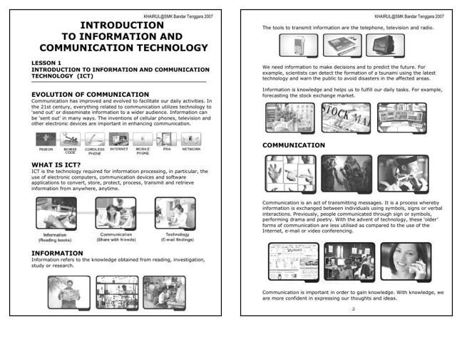 INTRODUCTION ICT (LA1)