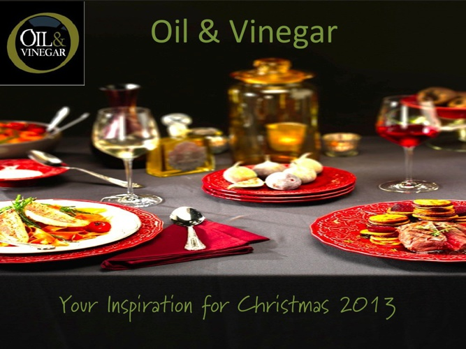XMAS presentation Oil & Vinegar Canada