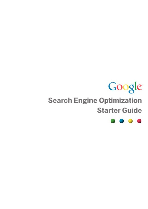 Google Official SEO Guide-2012