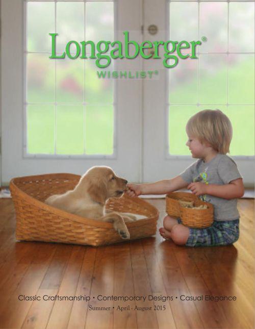 Longaberger 2015 Spring/Summer Wishlist