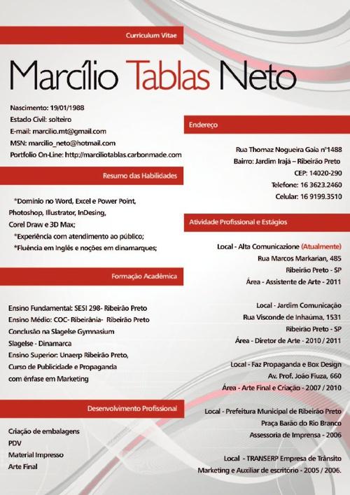Marcilio tablas