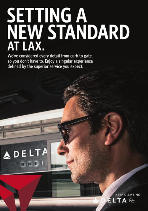 Delta Setting A New Standard at LAX