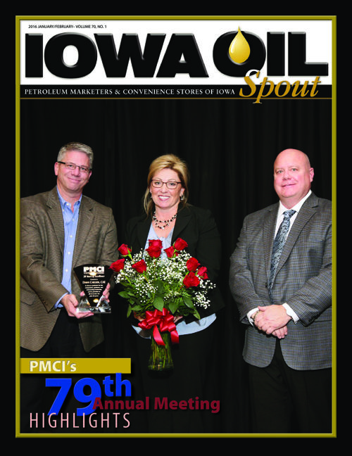 2016 Iowa Oil Spout - January February