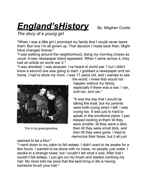 Englands History