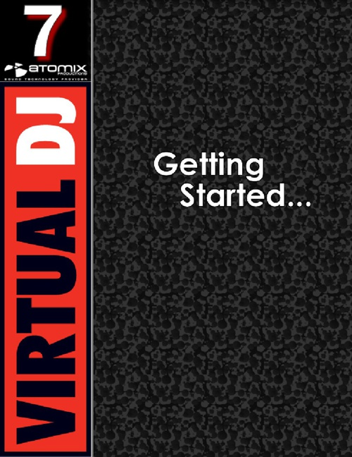 VirtualDJ 7 - Getting Started (Archivo PDF)