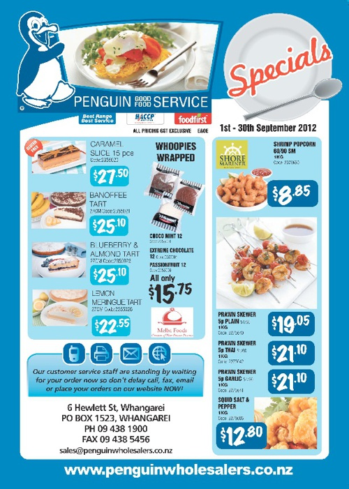 PENGUIN SEPT SPECIALS