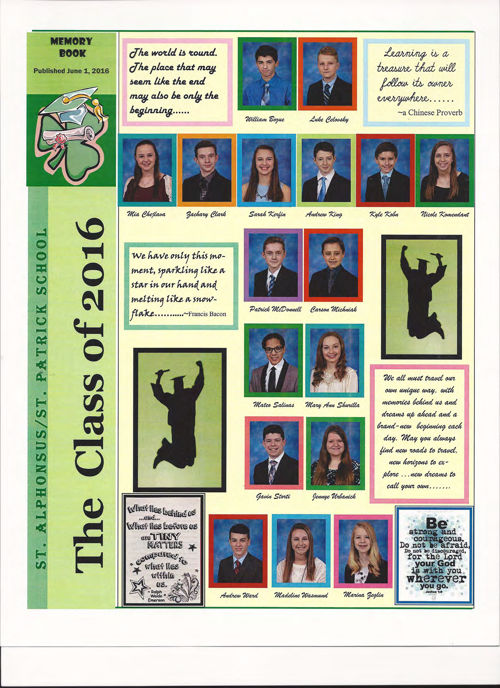 Complete Memory Book, Class of 2016 reduced