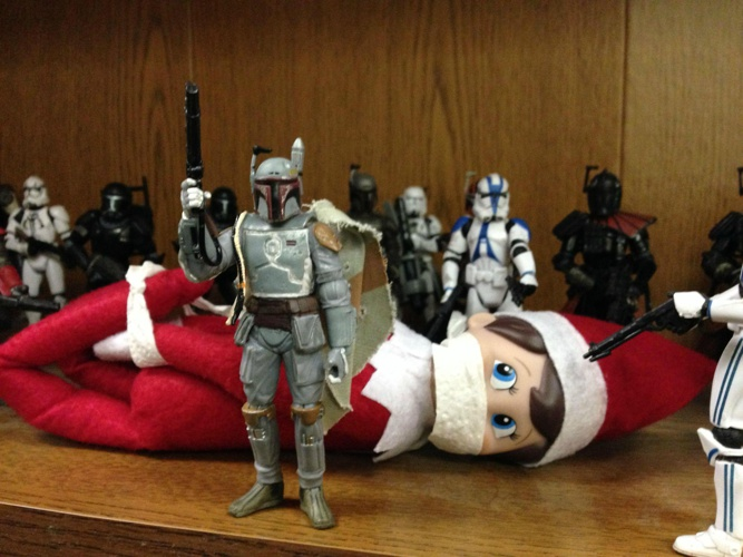 starwarselfonashelf