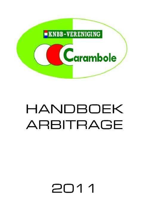 Handboek arbitrage