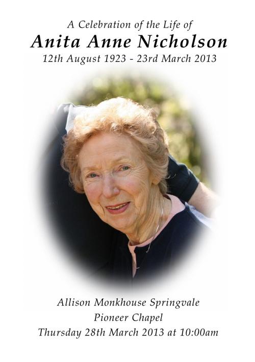 Anita Nicholson