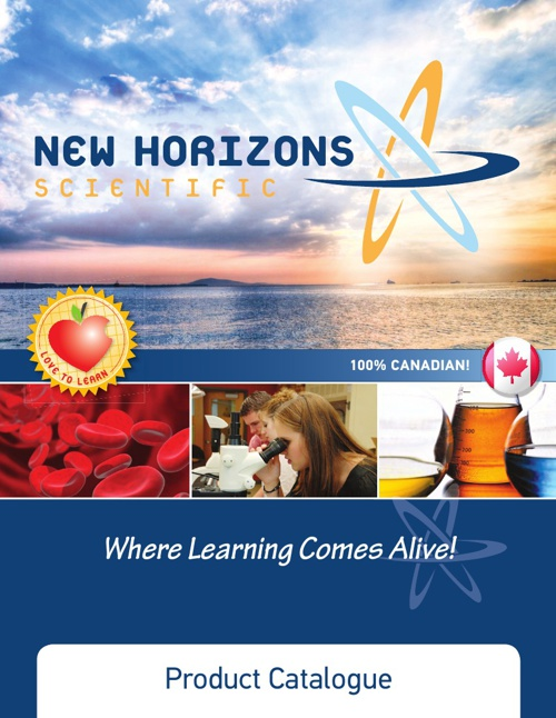New Horizons Scientific Product Catalogue