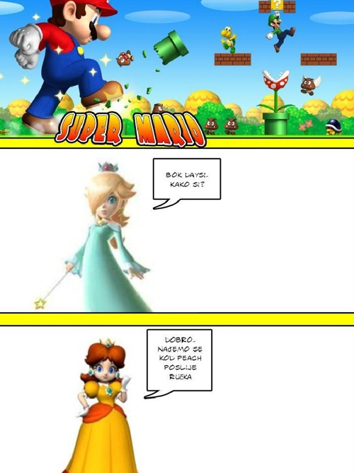 Super Mario strip