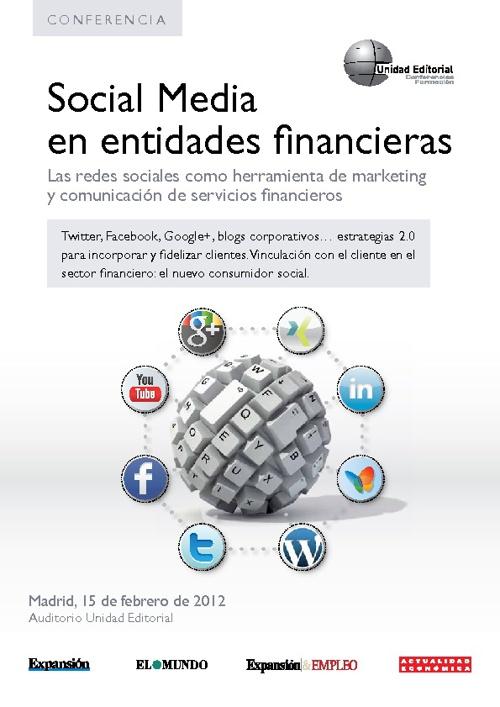 Social Media en Entidades Financieras
