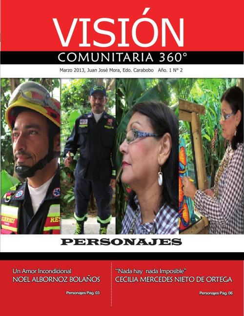 REVISTA VISIÓN COMUNITARIA 360 2da Edición
