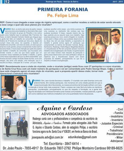 Jornal Realengo em Pauta -13- Maio-ABRIL