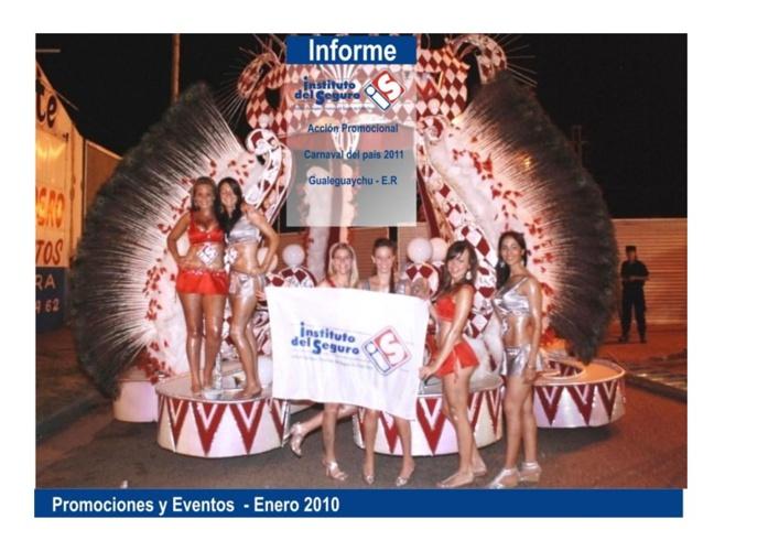 Promoción Carnavales Gualeguaychú 2011