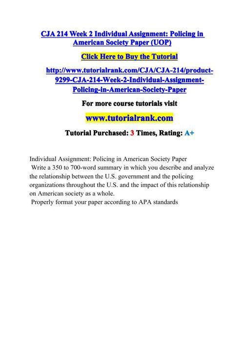 CJA 214 Potential Instructors / tutorialrank.com