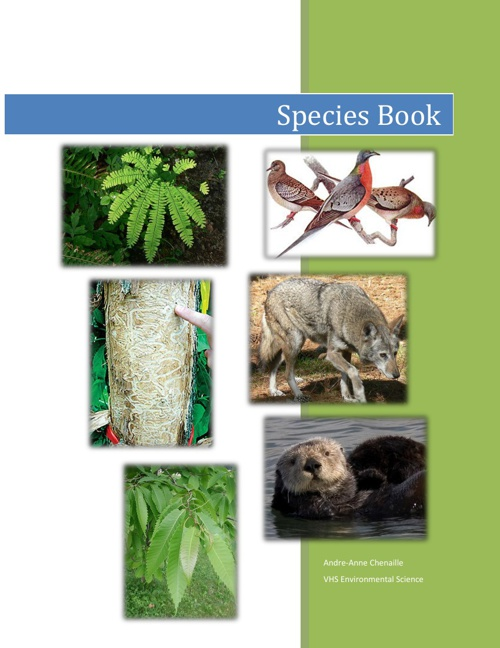 Species Book - Andre-Anne C